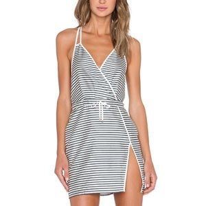 NWT NBD striped dress Sz S